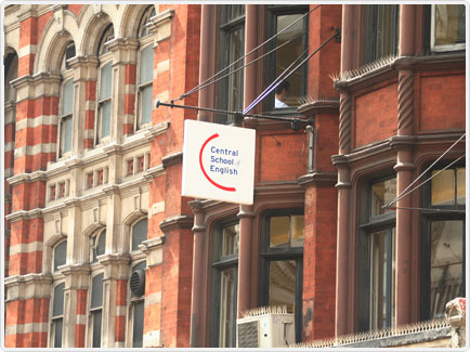 Central school of english reviews and school details for London school of english